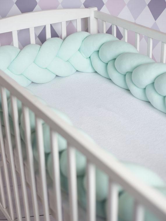 Knot Pillow Ochraniacz do łóżeczka