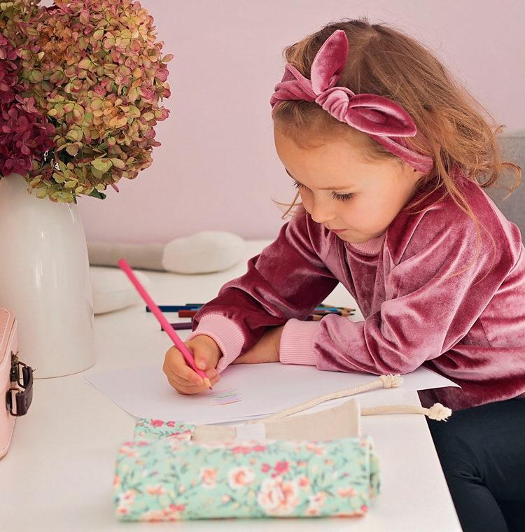 różowa bluza dla dziewczynki