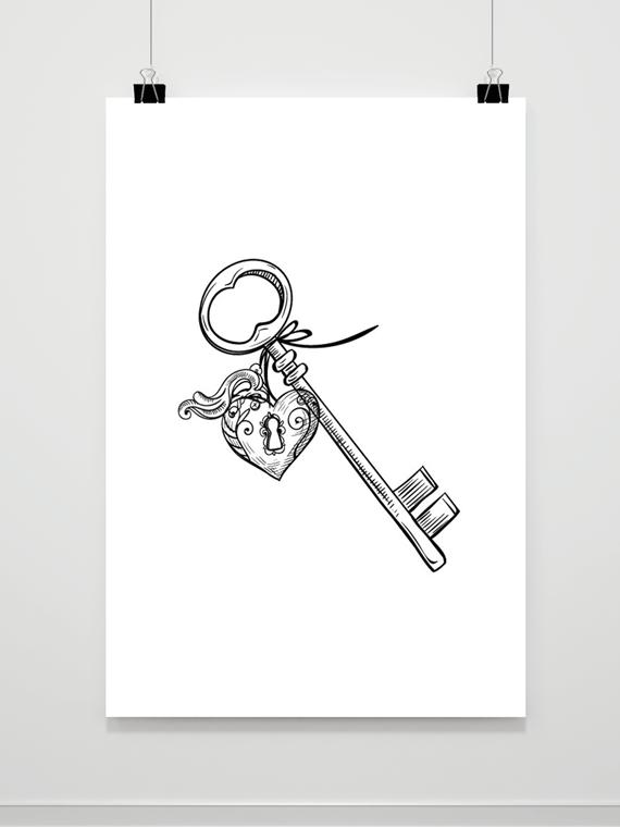 Plakat Klucz