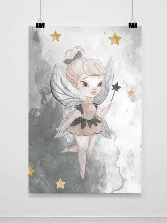 Plakat Malowana Wróżka