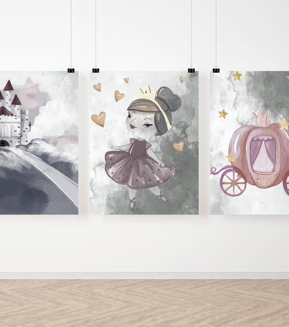 Zestaw plakatów Malowanych