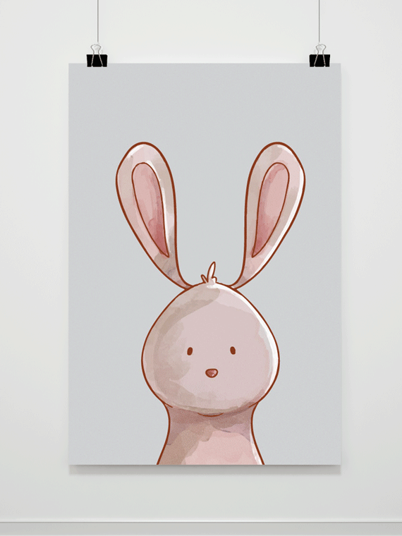 Plakat Bunny