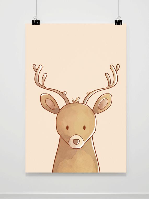 Plakat Deer