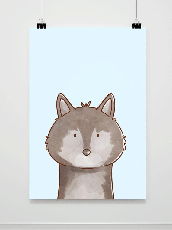 Plakat Wolf