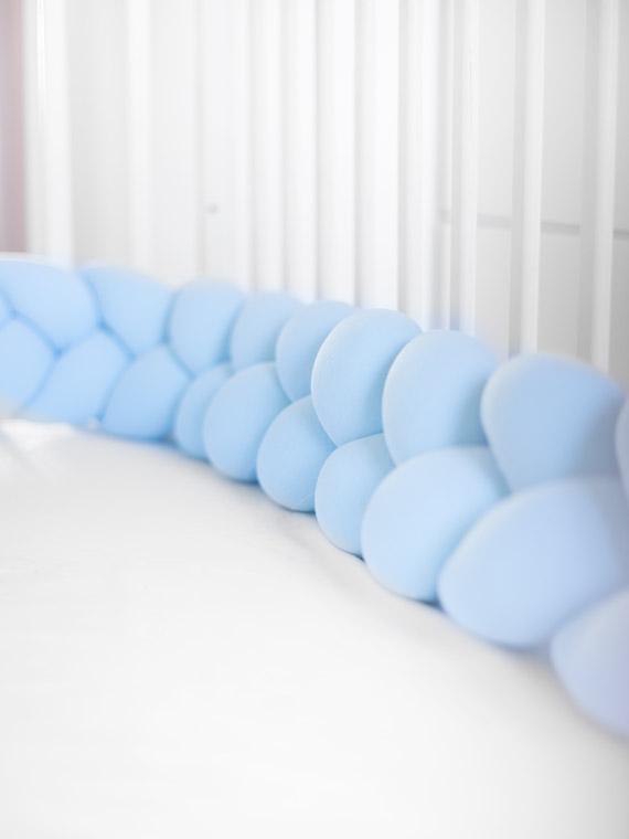 ochraniacz knot pillow niebieski