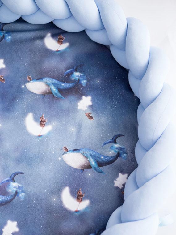 Mata do zabawy 2w1 Ocean Dreams błękitna